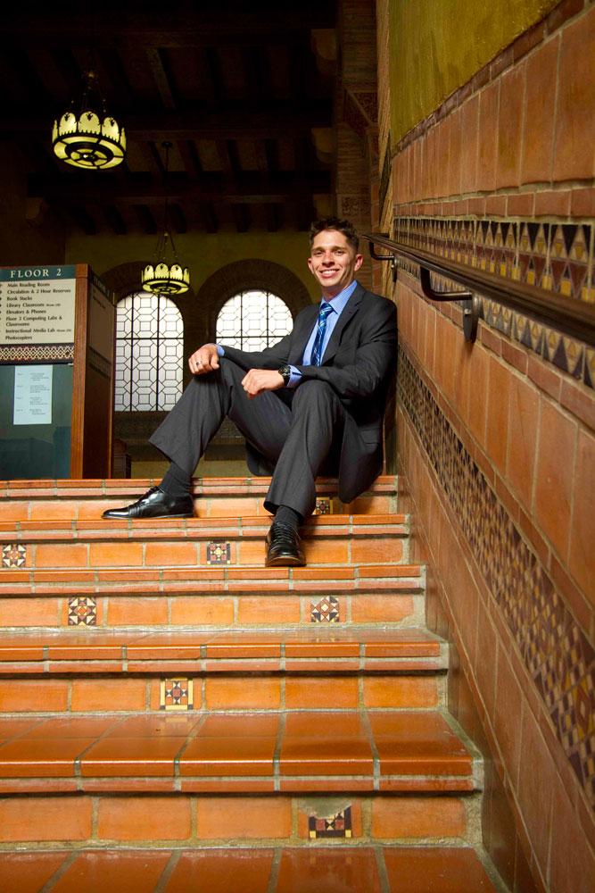 Christopher Klein: 2012 UCLA Senior of the Year