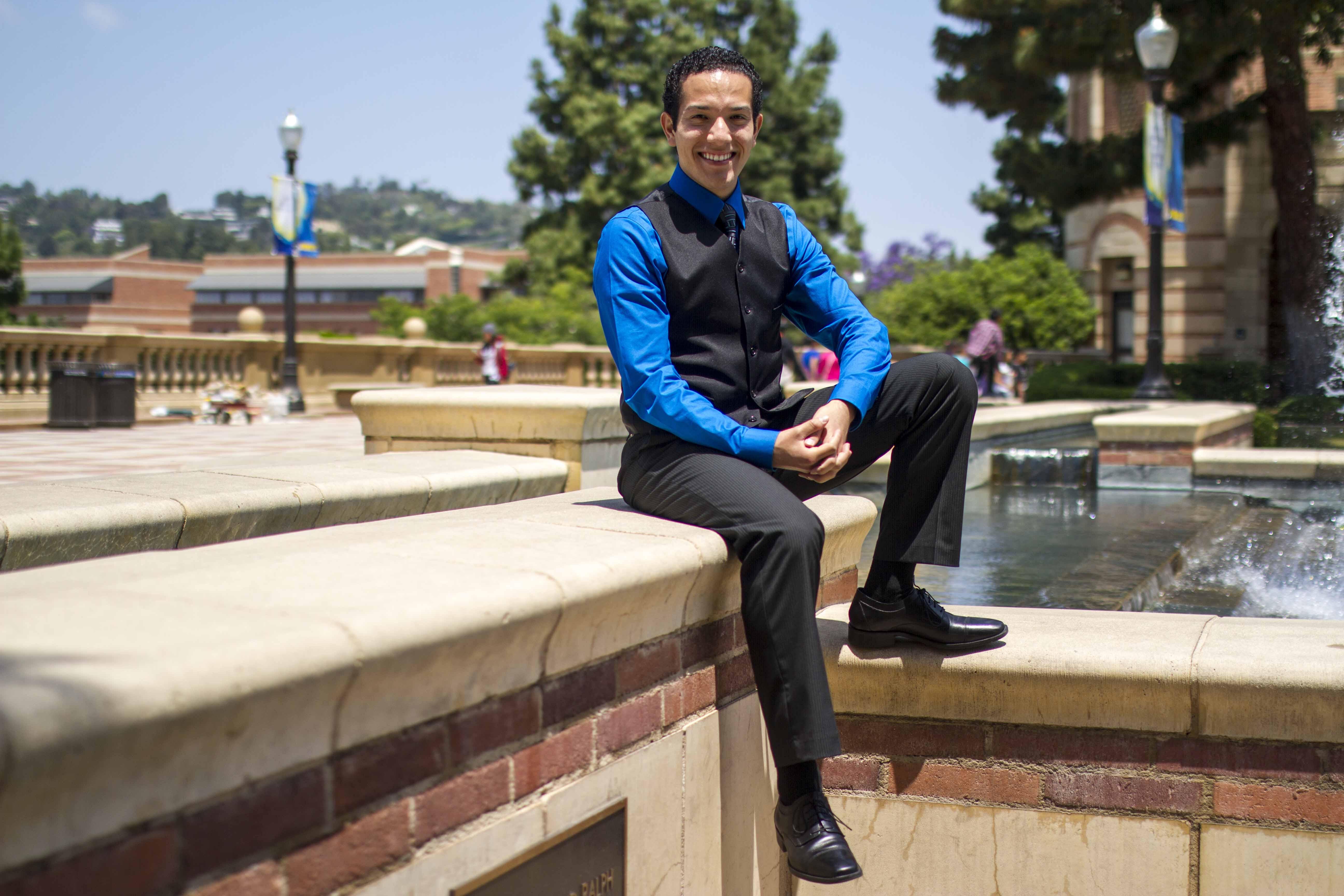 Anthony Sanchez: 2014 UCLA Senior of the Year