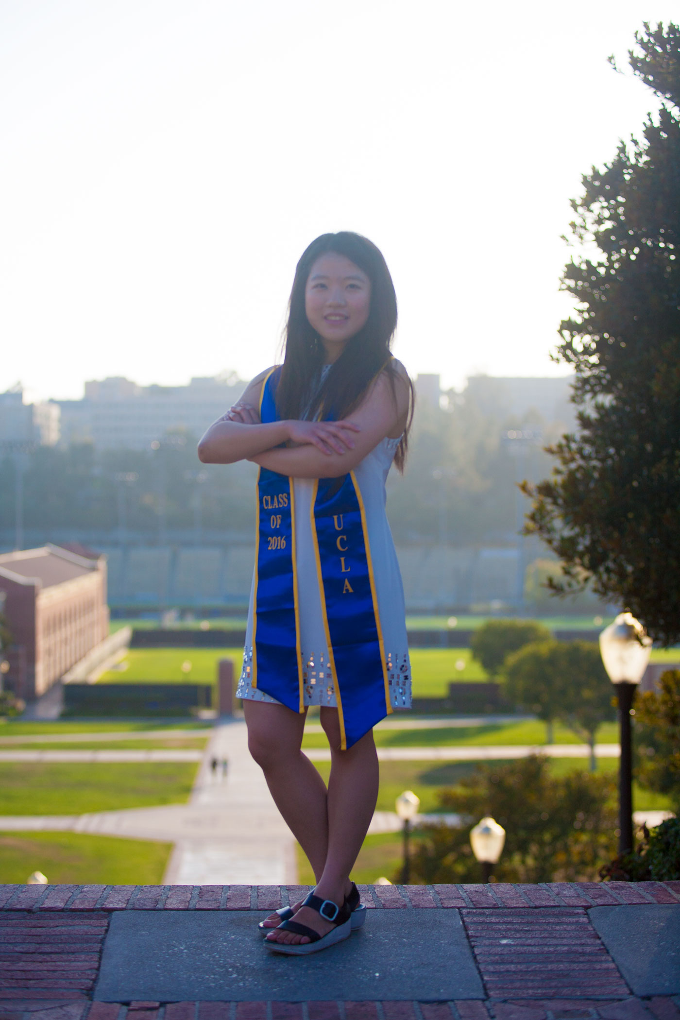 Jingqi Yu: 2016 UCLA Senior of the Year